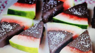 Photo of Čokoladno prekrivena sveža lubenica