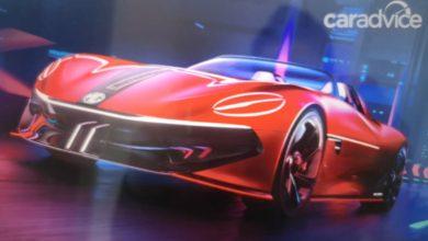 Photo of MG Ciberster električni sportski automobil zadirkivao je još jednom