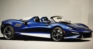 Photo of McLaren Elva sa vjetrobranom, šteta?