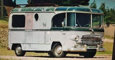 Photo of Na prodaju: kamp -kućica zasnovana na Citroenu Tipe H